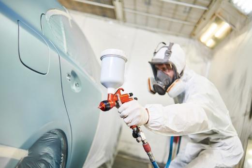 Travaux peinture auto rayure Martigues